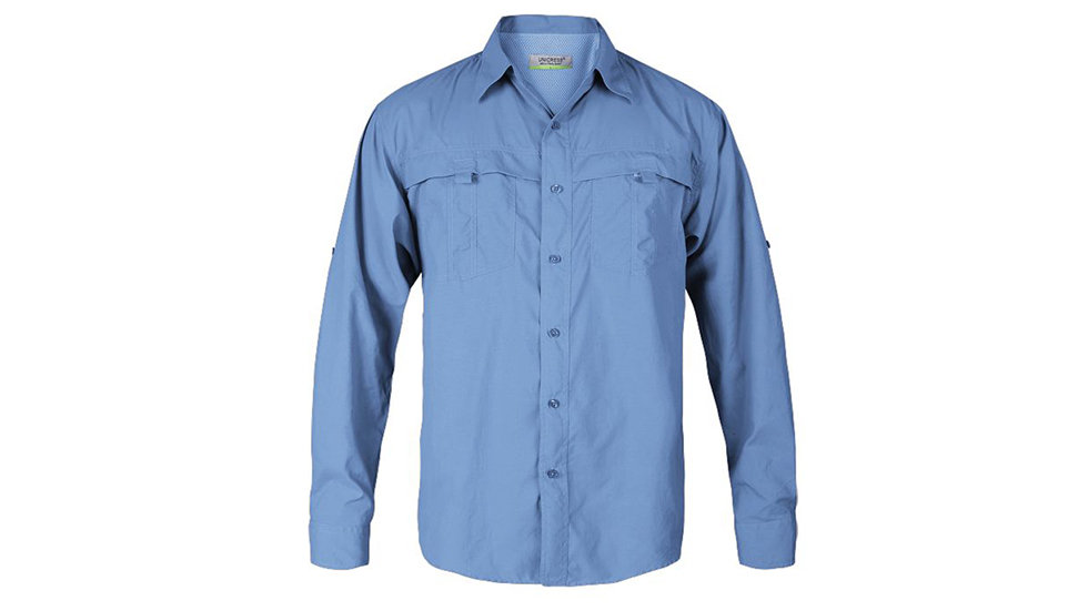 Camisa estilo Columbia manga larga
