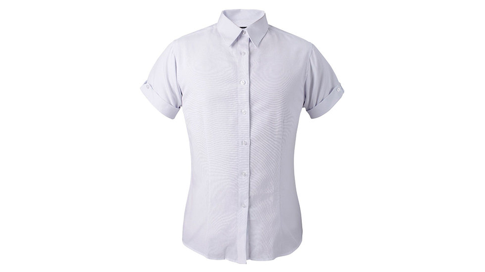Camisa Oxford M/C Dama