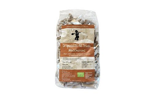 Maccheroni-pasta, luomu