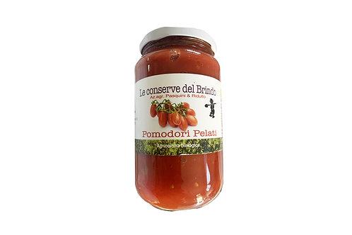 Kuoritut tomaatit, luomu