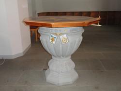 Taufsteinabdeckung Kirche Fehraltorf