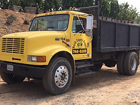 Drum Truck  ndscaping Materials, Soils, Mulch, Play-chip, Roll-off service around Escondido, California in San Diego County.