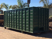 Large Roll-Off Bin Landscaping Materials, Soils, Mulch, Play-chip, Roll-off service around Escondido, California in San Diego County