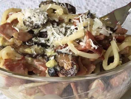 Low Carb Pasta Carbonara