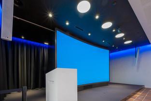 Die drei besten Einsatzmöglichkeiten für eine 4K Curved LED-Wand (1.25 mm Pixel Pitch).