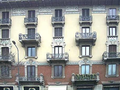Casa Laugier in Corso Magenta