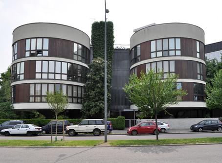 """Architetture moderne Milanesi: La """"casa a tre cilindri"""""""