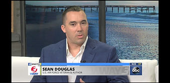 Sean Douglas on TV talking about Veterans and Suicide