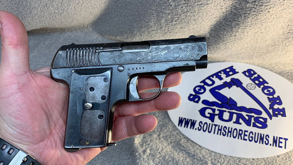 Ruby (Spanish) French Army marked contract pistol