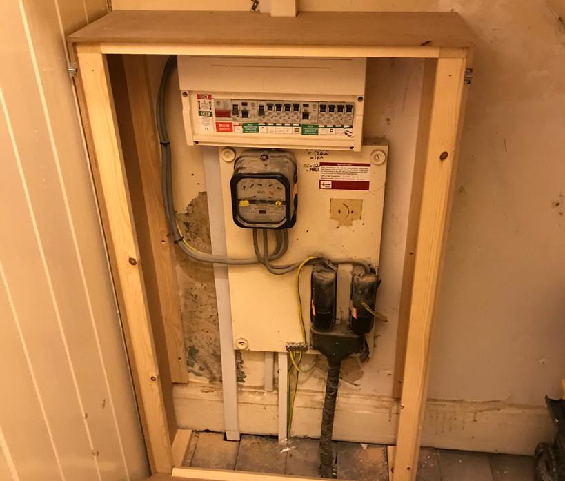 Custom meter cupboard