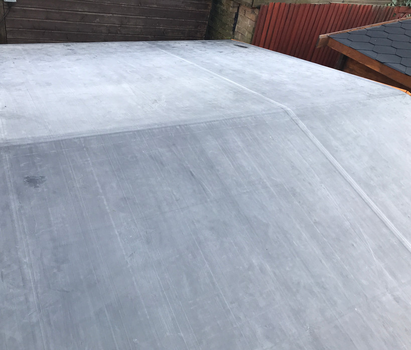 Rubber roof