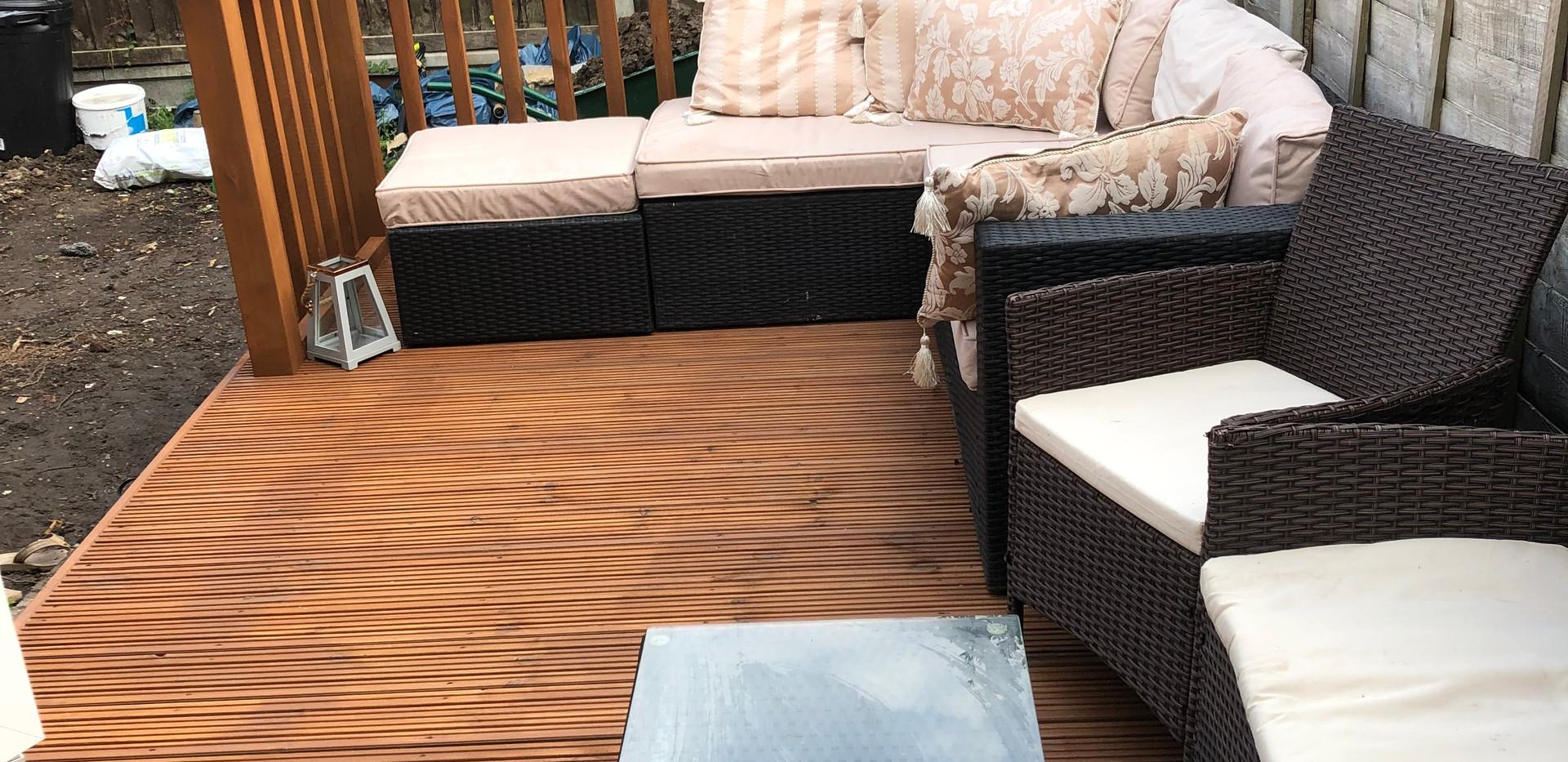 Sun deck - after