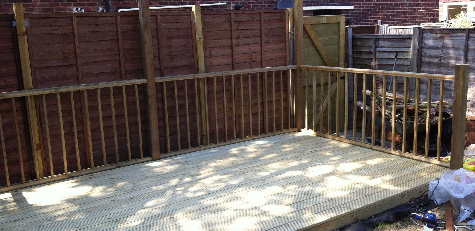 Bespoke decking project