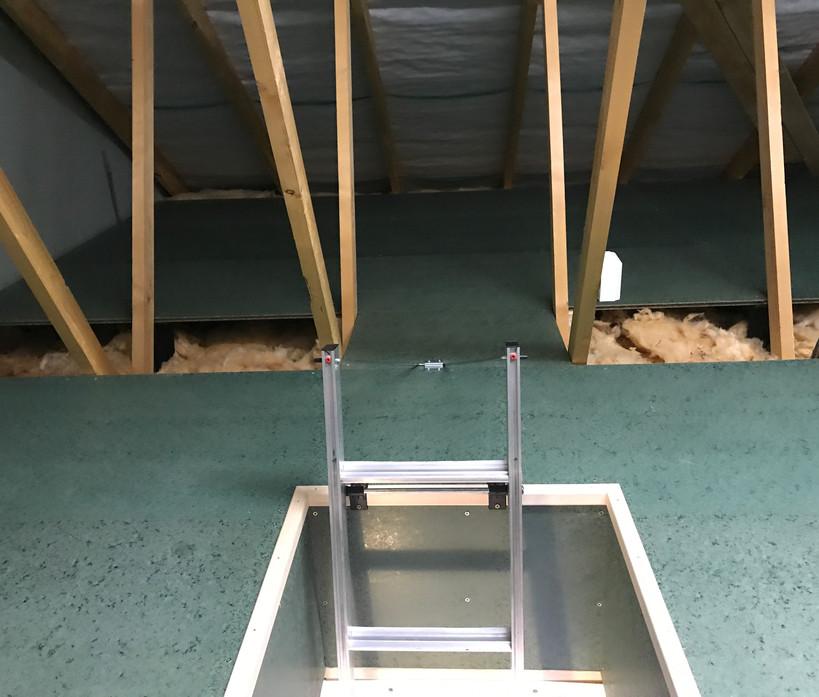 Loft boarding - after