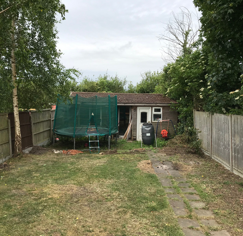 New fence & gate - Before