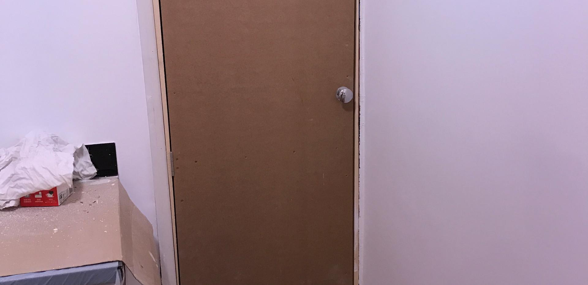 Bespoke boiler cupboard door