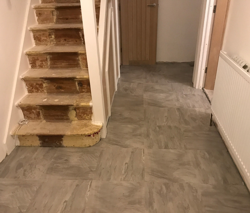 Laminate flooring - after