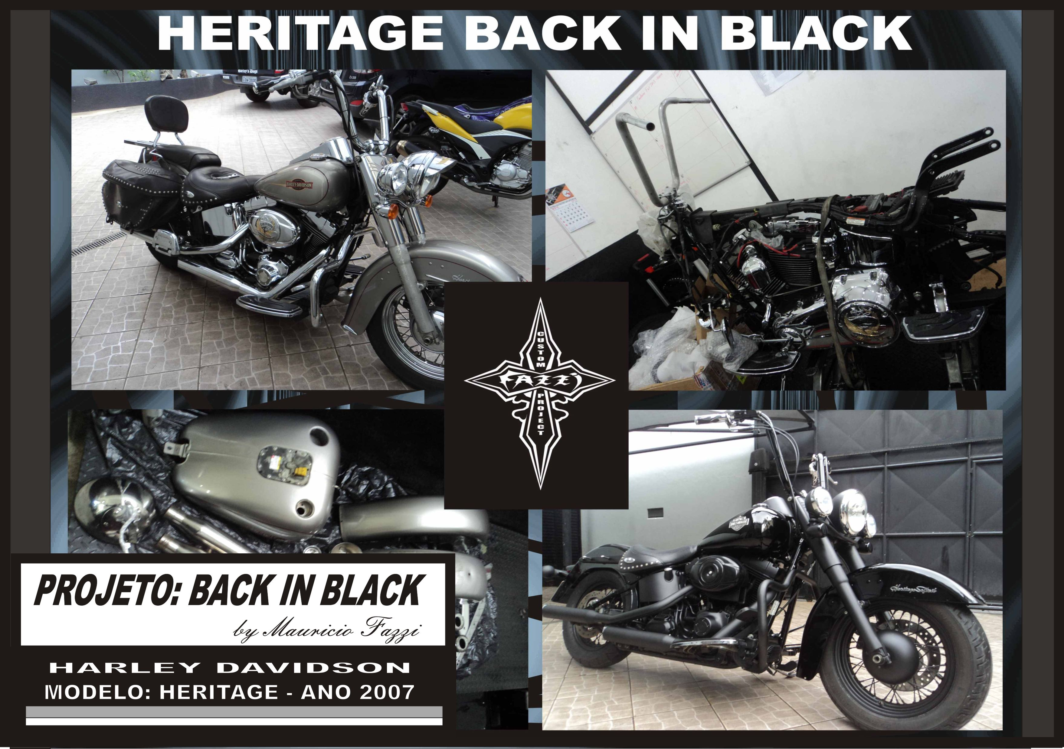 BACK IN BLACK - HERITAGE 2007