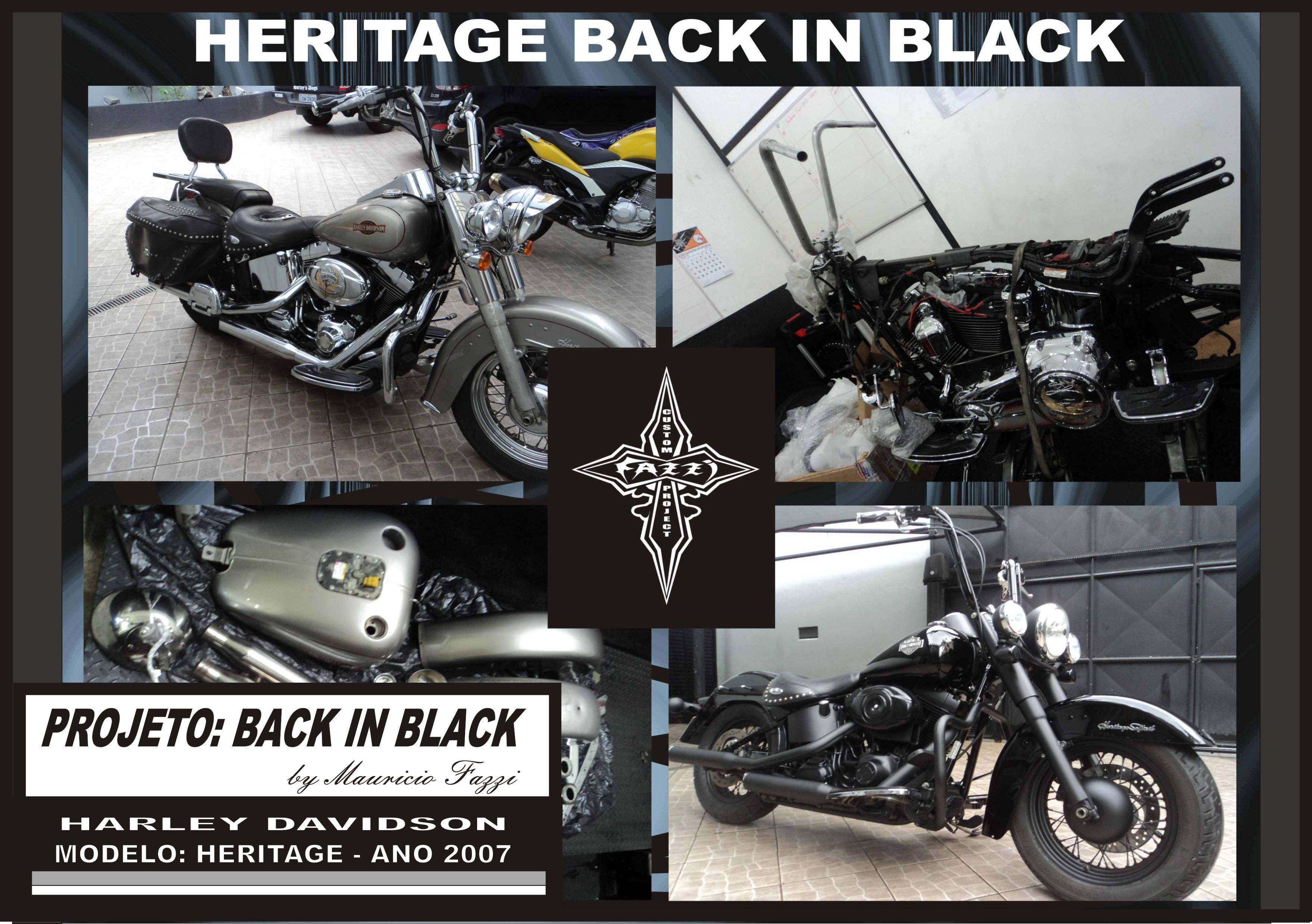 BACK IN BLACK - HERITAGE 2007
