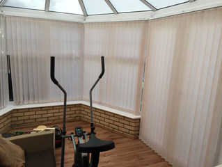 Project: Vertical blinds in Royston