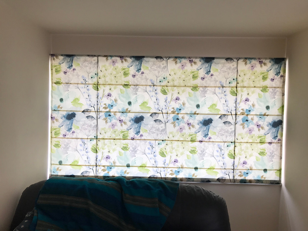 roman blinds from £134 fitted