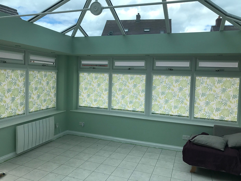 howley green perfect fit roller blinds