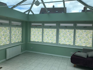 Perfect fit roller blinds fitted in biggleswade