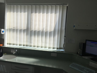 Project: Vertical Blinds in NHS clinic in Luton