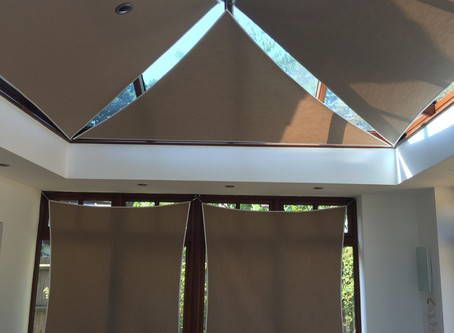 Project: Sail blinds fitted in Cambridge