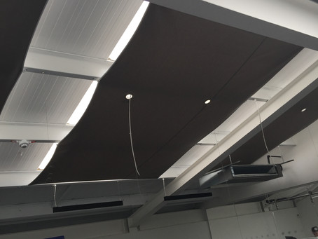 Project: Office Blinds for Skylights