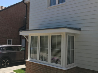 "Faux wood blinds fitted in ""the village "" buntingford 3 bedroom house fitted from £800"