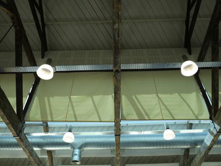 72 meters of roof sails