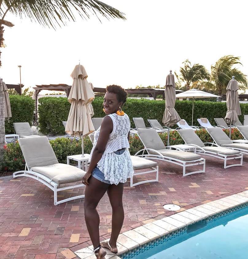 Ritz Carlton Poolside