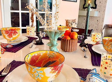 Transitional Summer Tablescapes