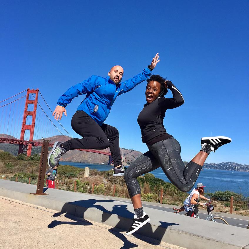 Golden Gate Bridge Jump