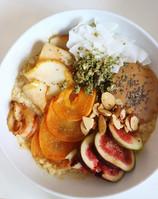 Simple seasonal oatmeal and yogurt bowl recipes