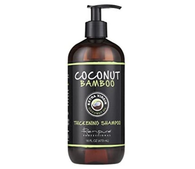 Ren Pure Coconut Oil Bamboo Shampoo