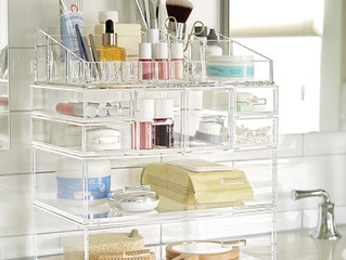 Make-up and Perfume Organization with The Container Store