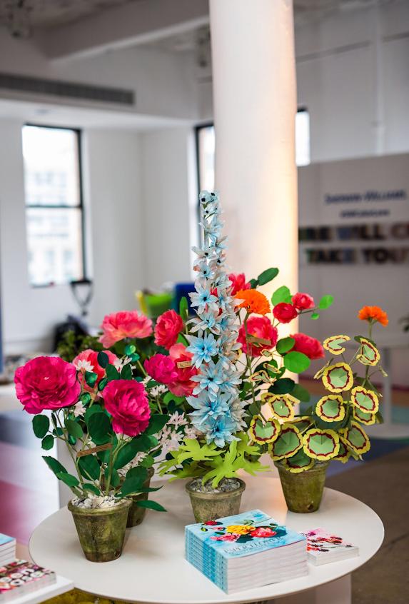 Paper Flower Station