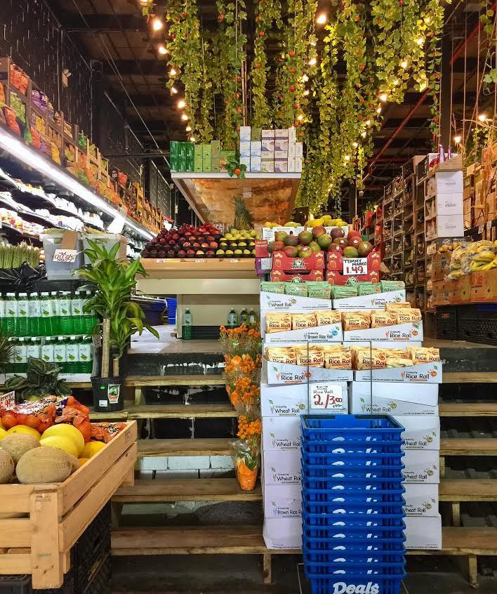 Organic paradise supermarket