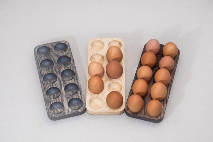 Wood Egg Crate
