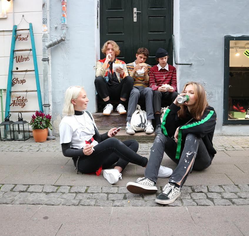 Cool kids of Copenhagen