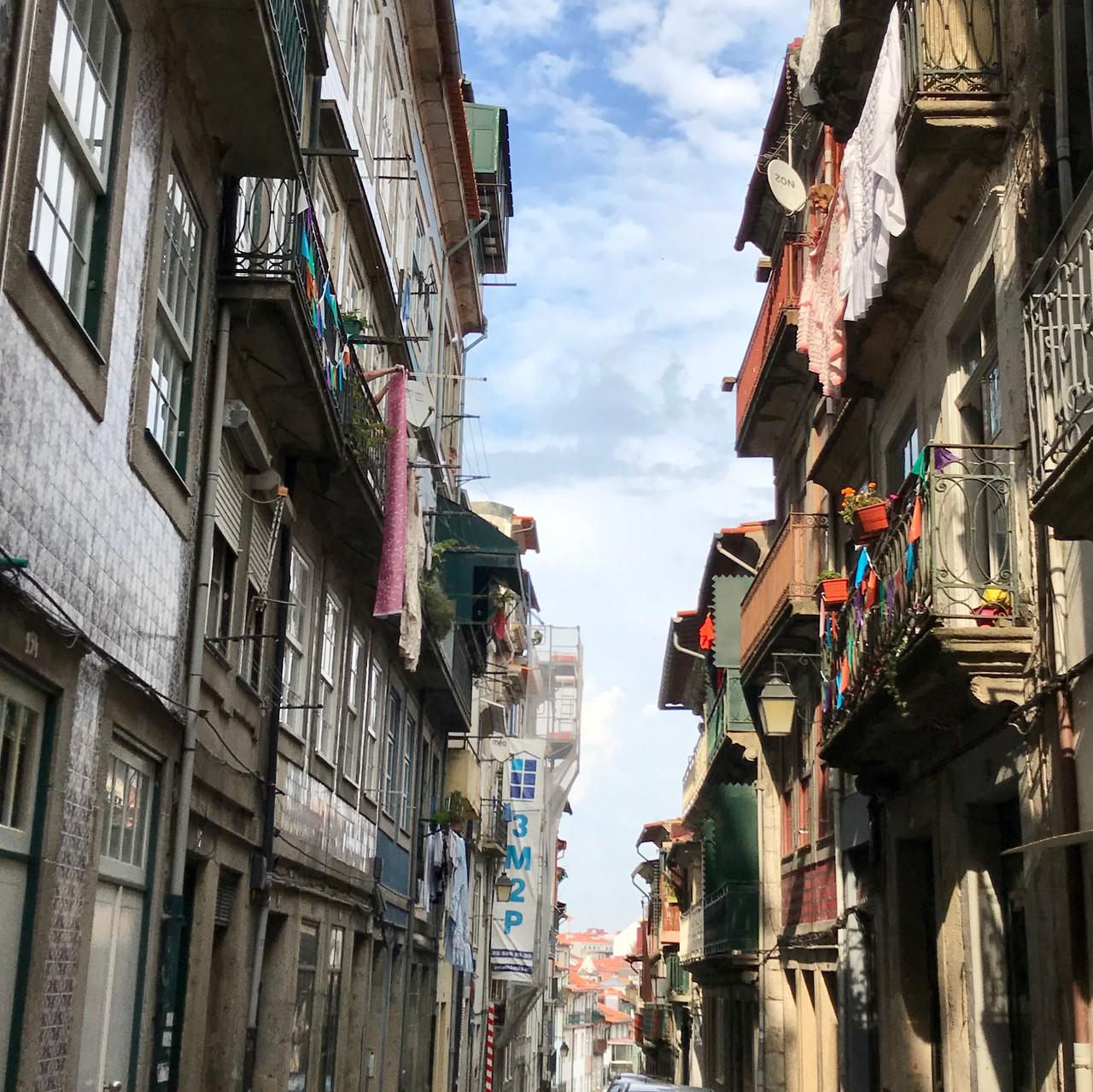 Quaint Narrow Alleyways