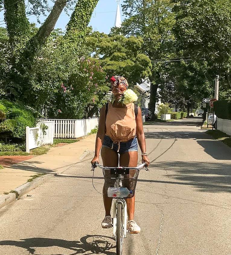 Yikes on a Bike