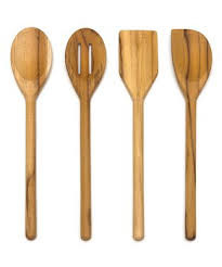 Teak Wood Untensil Collection