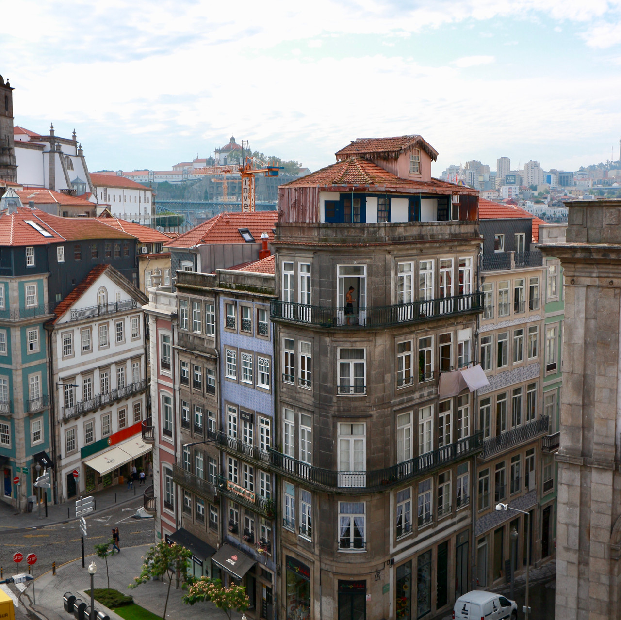 View from Porto AS 1829 Hotel
