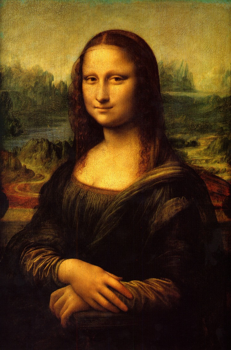 La Gioconda, nota anche come Monna Lisa, è un dipinto a olio su tavola di legno realizzato da Leonardo da Vinci, databile al 1503-1504 circa e conservato nel Museo del Louvre di Parigi.