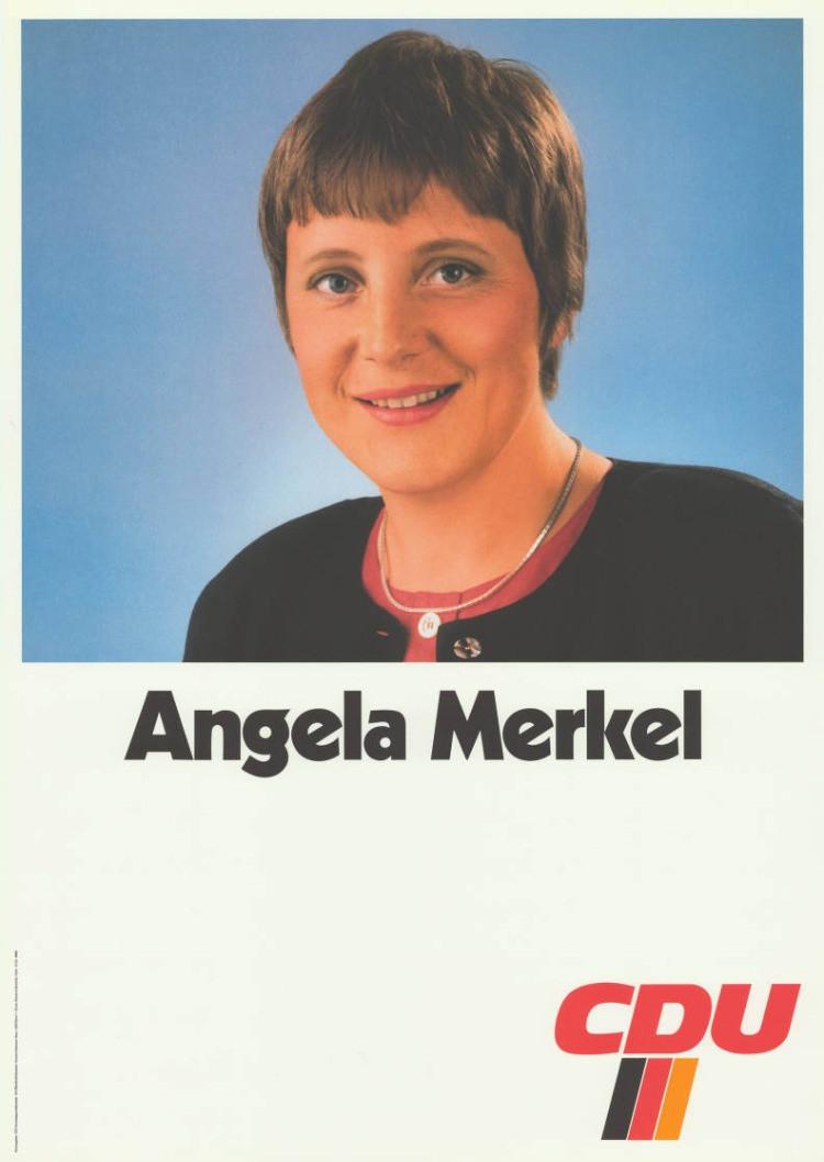 I primordi della carriera politica di Angela Merkel