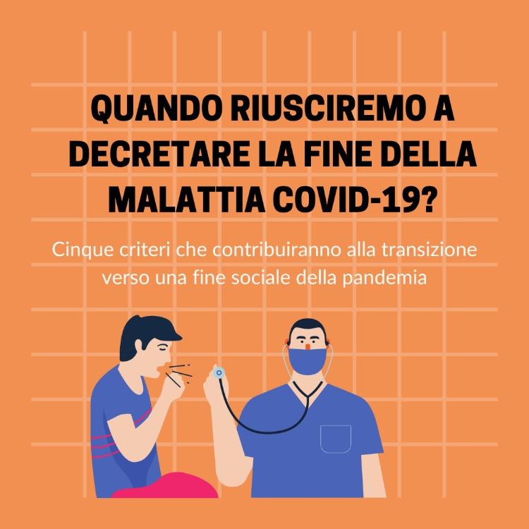 Fine sociale o fine medica?