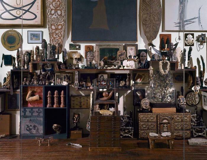 Riallestimento della Collezione di André Breton, 1924-1966